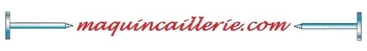 Logo maquincaillerie et les pointes inox