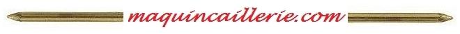 logo pointes laiton