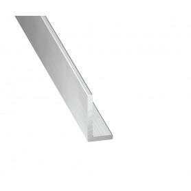 Cornières Inégales en Aluminium Brut de 1 mètre
