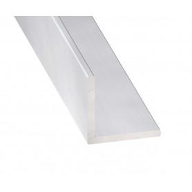Cornières Égales en Aluminium Anodisé Incolore de 1 mètre