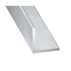 Cornières Égales en Aluminium Brut de 1 mètre