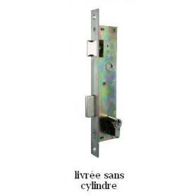 Serrure de menuiserie metallique entraxe de 92 mm