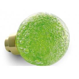 bouton de porte micro bulles Vert Anis
