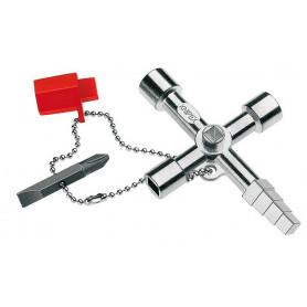Clé d'armoire universelle Knipex