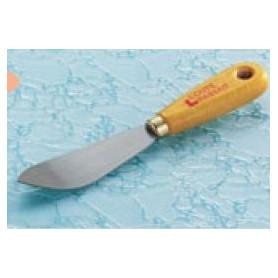 Couteau à mastiquer à lame courbée
