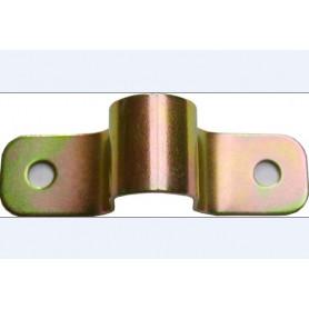 Gâche pour  tige de verrou de 18 mm de portail