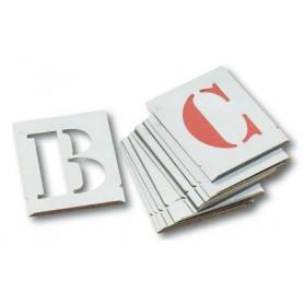 Pochoirs 26 lettres