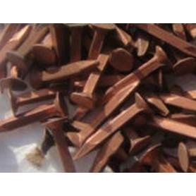 Lot de semences en cuivre de tapissier