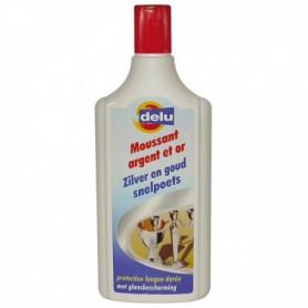 Delu Moussant Argent et Or 150 ml