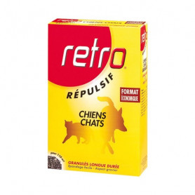 Retro Chiens-Chats Granulés Répulsifs 400gr
