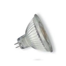 Spot LED GU5,3 12V 5W à réflecteur en verre