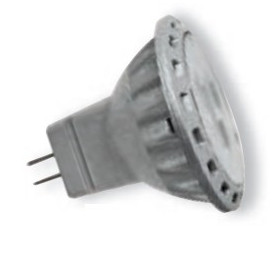 Spot LED GU4 12V 2W Non dimmable