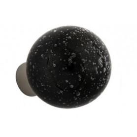 bouton de porte micro bulles Noir