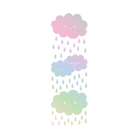 Sticker Clouds 78x24cm