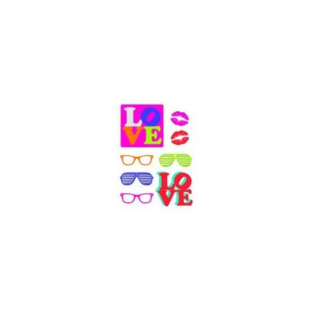 Sticker Pop Art 78x48cm