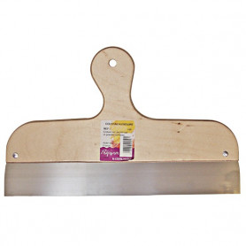 Couteau à enduire à lame inox de 35 cm