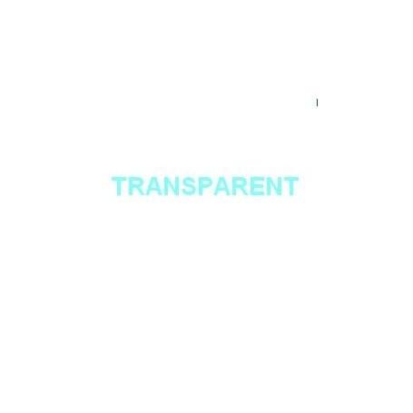 Adhésif uni Transparent Mat 2m x 45cm