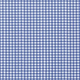 Adhésif fantaisie Vichy Bleu 15 m x 45 cm