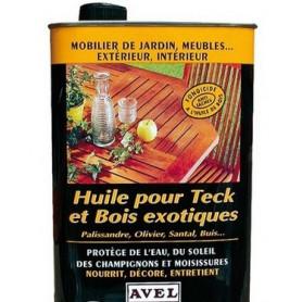 Huile pour Teck et Bois Exotiques