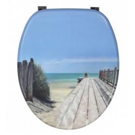 Abattant WC Décor Holiday Beach