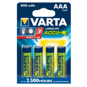 Piles Rechargeables AAA 800 mAh
