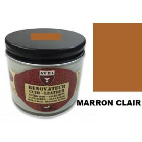 Rénovateur Cuir Marron Clair AVEL 250 ml