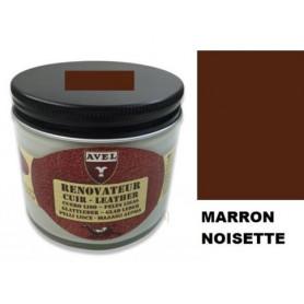 Rénovateur Cuir Marron Noisette AVEL 250 ml