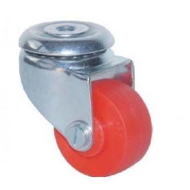 Roulette pivotante à oeil rouge ameublement