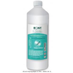 Alcool isopropylique à 70% 1 litre