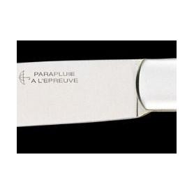 Détail du couteau de poche Le Roquefort signé