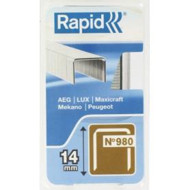 Agrafes 14 mm Rapid No  5 - 980