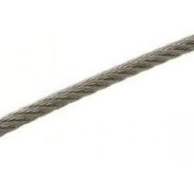 Câble souple inox par 25 mètres