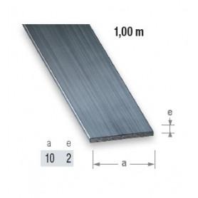 Plat en acier étiré de 10 mm en 1 mètre de long