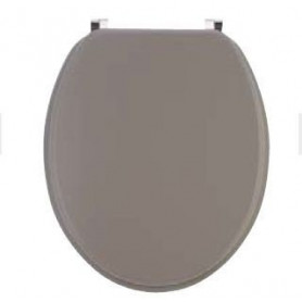 Abattant WC couleur taupe mat