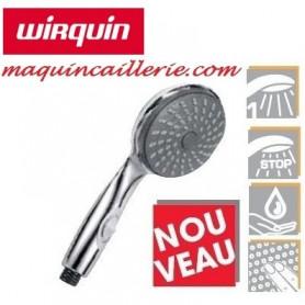 Douchette stop-jet Flora de la marque Wirquin