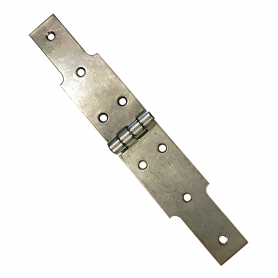 La charnière à congés en inox de 50 mm X 300 mm de long