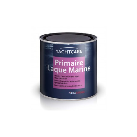 Primaire ou sous-couche de Laque Marine couleur Blanc 0.75 L