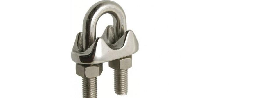 Toute la câblerie inox marine et les accessoires de tension pour le câble