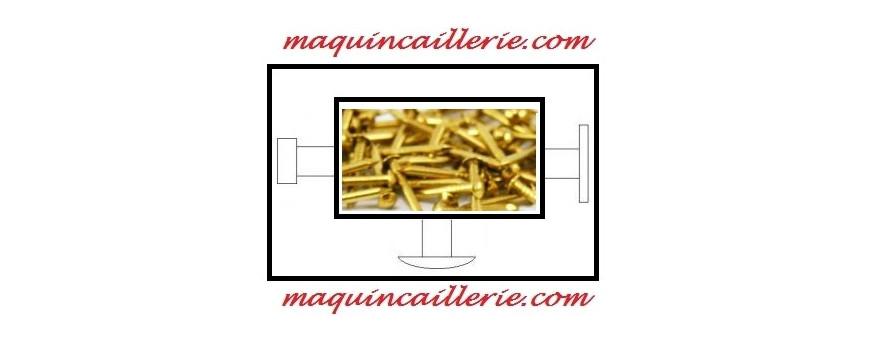 Les pointes ou clous en laiton pour la finition et la décoration