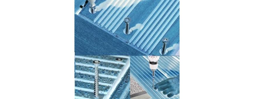 La visserie inox pour le montage des terrasses