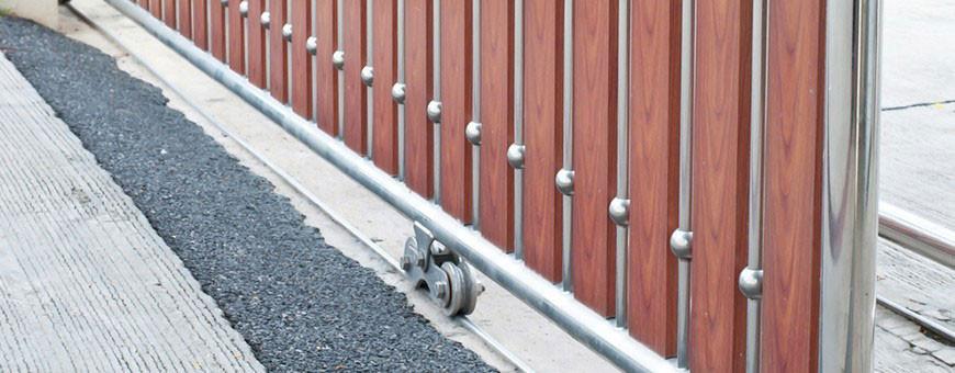 Quels sont les différents types de galets à gorge pour portails ?