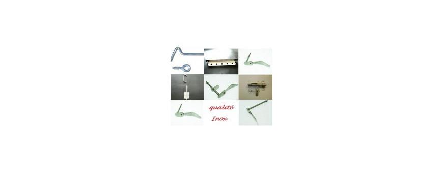 Arrêts de volets ou blocs volets en inox