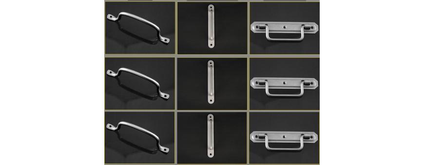 Les poignées en inox pour volets, fermetures et portails
