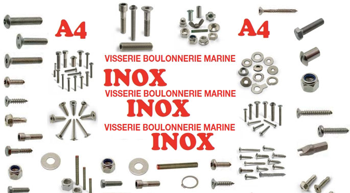 Visserie Inox marine