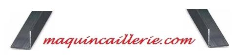 Cornières en acier et logo maquincaillerie.com