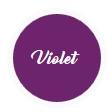 teinture de couleur violet