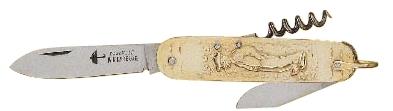 Couteau de poche type Suisse en laiton