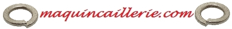 Logo des rondelles Grower inox A4