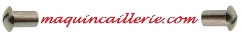 Logo maquincaillerie vis hublot inox