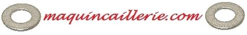 Logo des rondelles plates larges en inox marine